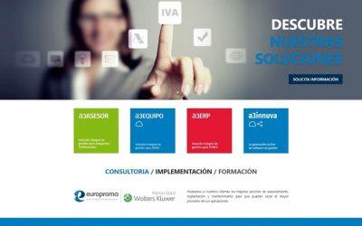 Nueva Web de Europroma