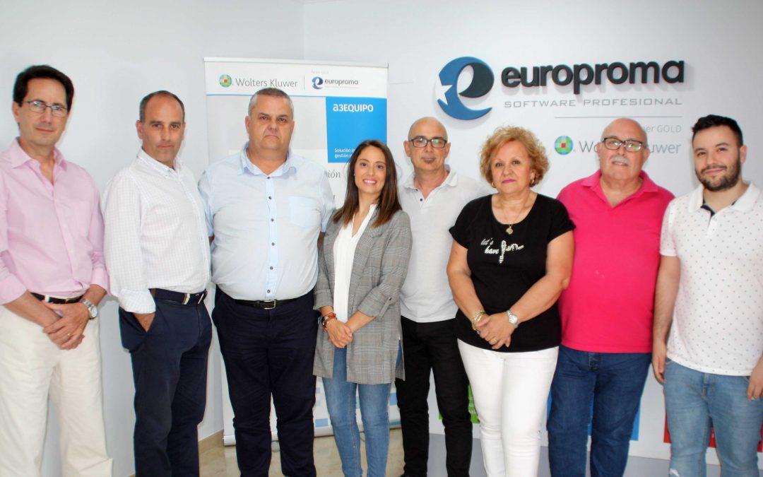 Europroma, partner Wolters Kluwer Andalucía especializado en asesorías y RRHH